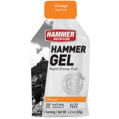 Hammer Energy Gel Natural and Gluten Free for Running Hiking and Cycling Energy Gel