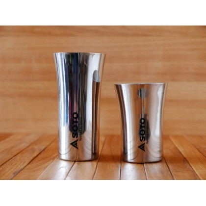 SOTO Stainless Steel Outdoor Drinking Cup Stackable